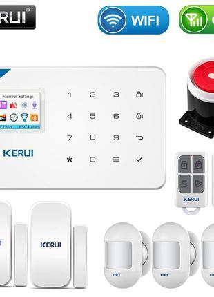 Wi-Fi+GSM Сигнализация KERUI W18