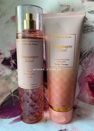 Набор парфюмированный спрей и крем для тела от bath and body work