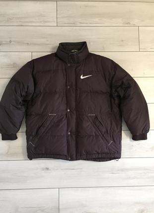 Вінтажна куртка nike vintage винтажный пуховик оригинал