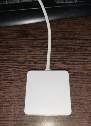 Переходник Mini displayport to HDMI, DVI, VGA для MacBook