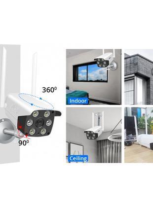 Уличная IP камера видеонаблюдения с удаленным доступом UKC HD-65