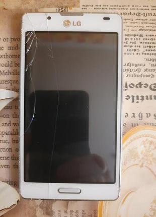 LG Optimus L7 II P710 White