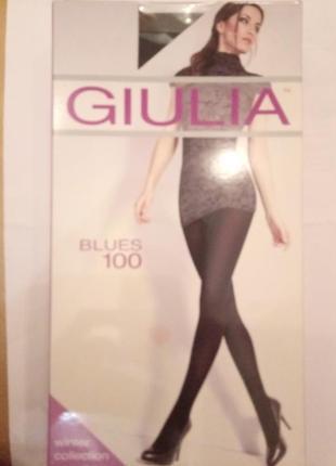 100 den колготки эластичные giulia blues 3d 100