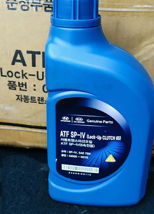 Трансмиссионное масло Mobis Hyundai ATF SP-IV