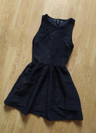 Детское черное платье topshop