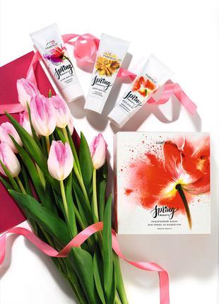 Подарочный набор для ухода за кожей рук Spring beauty