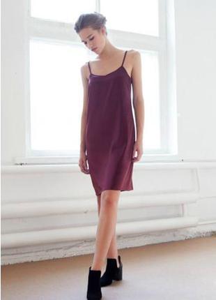 Платье на тонких бретелях в бельевом стиле atmosphere