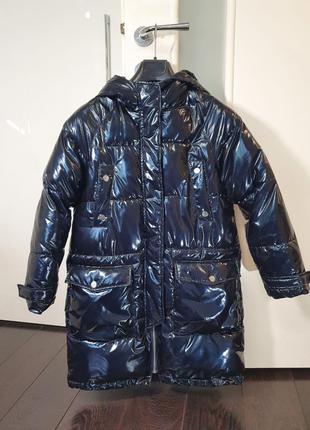 Пальто Zara oversize деми 152 на девочку