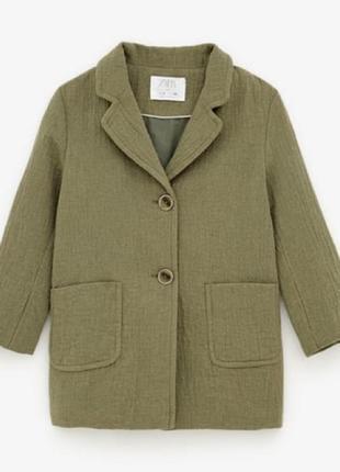Легкое пальто zara