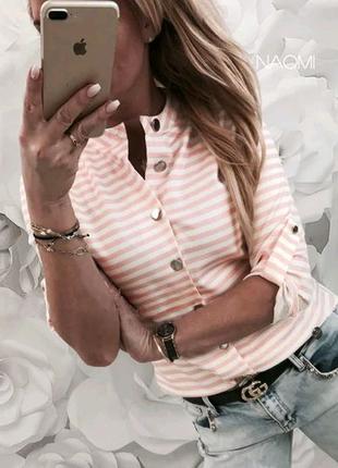Блузка полоска