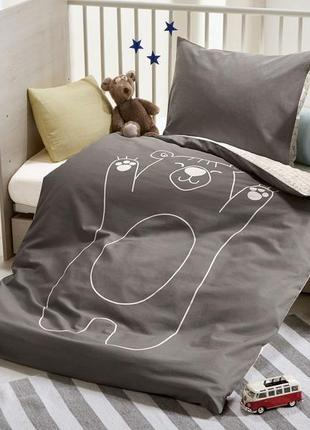 Детский комплект постельного из трёх единиц 135*100, 40*60, не...