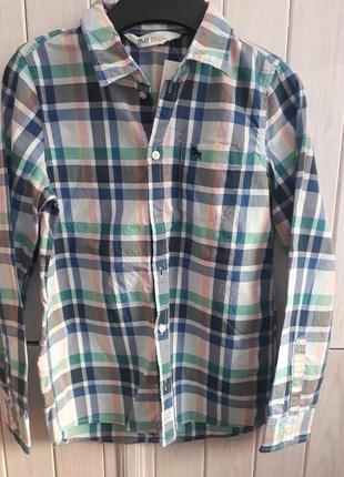 Рубашка h&m 134р