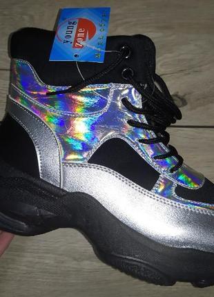 Утеплены женские ботинки деми осень евро зима  платформа жіноч...