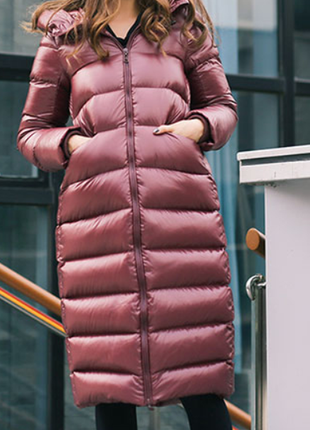 Пуховик кокон, зима 2019