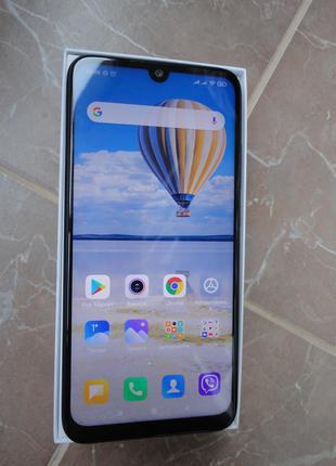 Xiaomi Redmi note 7 Blue 4\64Gb в отличном состоянии+запасн.стекл
