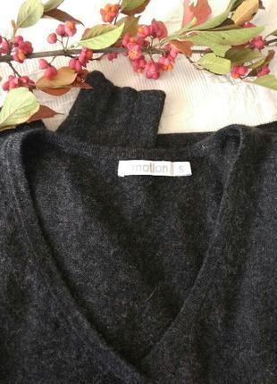 С кашемиром ангорой пуловер джемпер тонкий e motion s