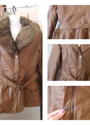 Куртка с  воротникм -miss luma- s m ( отстегивается)