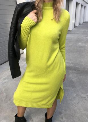 Стильное длинное теплое платье, xl-xxl, 50-52