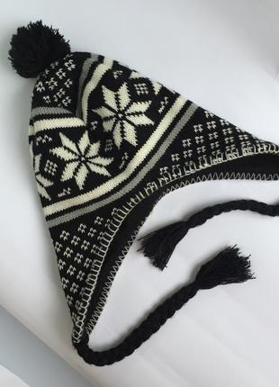 Тёплая шапка на флисе
