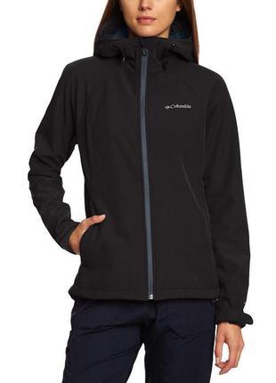 Чёрная куртка columbia