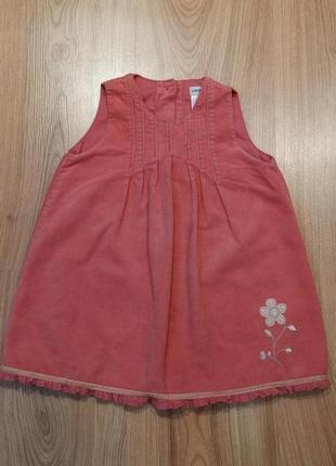 Сарафан, платье, вельветовый сарафанчик, платьице