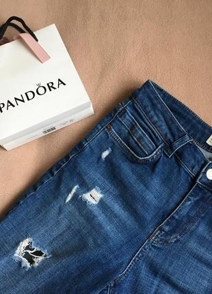 Джинсы с рваностями рваные джинсы
