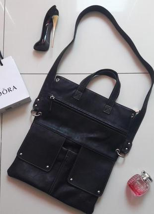 Вместительная сумка c длинной ручкой сумочка