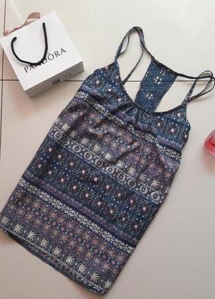 Стильный яркий топ майка блуза