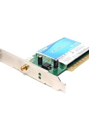 Wi-Fi адаптер D-Link DWL-G510, AirPlus G 2.4ГГц (802.11g) низкопр