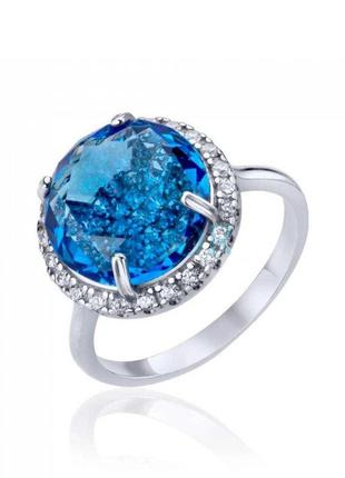 Серебряное кольцо размер 17
