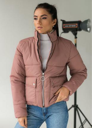 Модная куртка пуховик