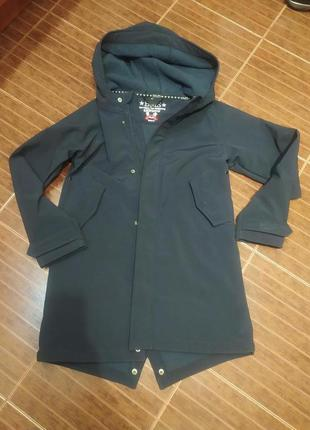 Отличная куртка парка демисезонная софтшелл от bms,p. 152