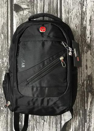 Рюкзак swissgear міні чорний