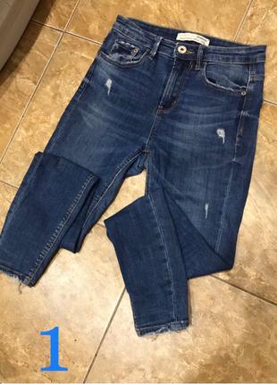 Много фирменных джинсов размер S листайте фото!