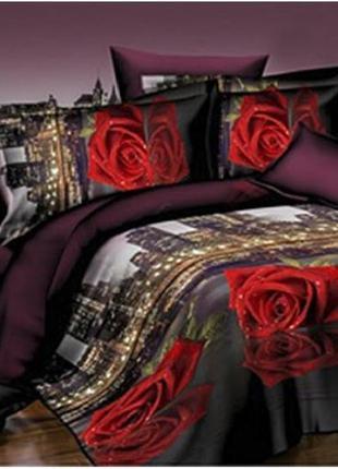 Постільна білизна/постельное бельё: роза в городе