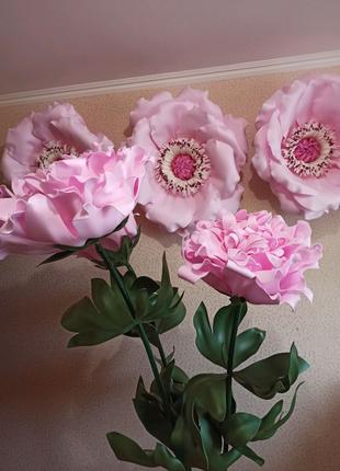 Ростовые цветы декор из изолона