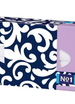 Хустинки паперові унiверсальні Bella №1 тришарові, 90 штук