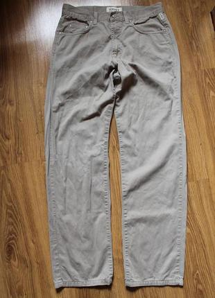 Мужские штаны брюки хлопковые versace jeans couture