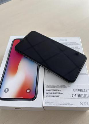 IPhone X  256Gb в хорошем состоянии