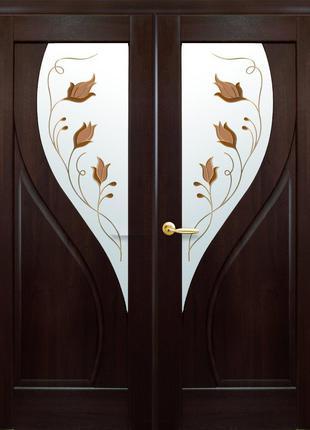 Двері ПРІМА каштан