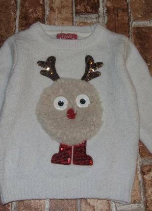 Кофта свитер 3-4 года