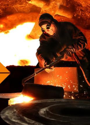 Производство на заказ отливок из чугуна и стали весом до 5000 кг