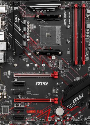 Материнская плата MSI B450 GAMING PLUS MAX (sAM4, AMD B450)
