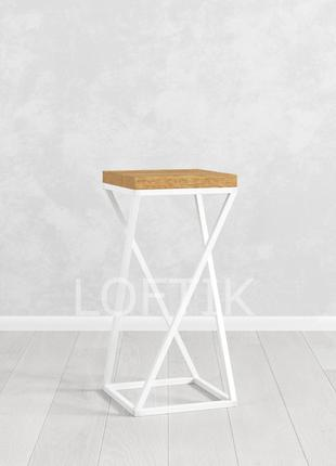 Барный стул в скандинавском стиле лофт BS-02