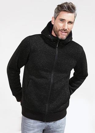 Шикарная теплющая термо толстовка, курточка, кофта от тсм tchi...