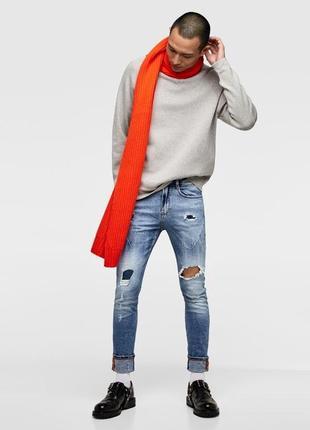 Мужские джинсы zara. размер 42