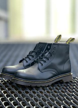 🤩dr martens 101 smooth black🤩женские/мужские низкие ботинки ма...