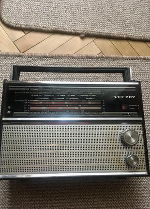 Радіоприймач vef 202 СССР