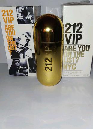 Продам Carolina Herrera 212 VIP