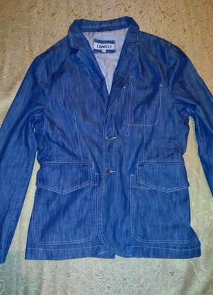 Джинсовый пиджак longli